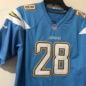 Melvin Gordon powder blue jersey